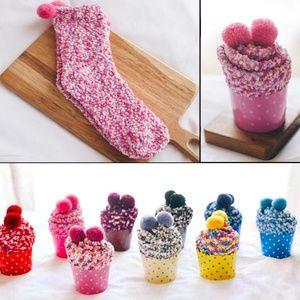 Accessories - Strawberry Shortcake Cozy Cup Cake Cotton Socks